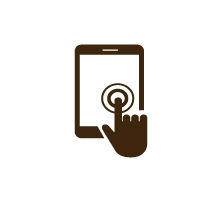 Iconen-activiteiten-tabletgame-ontvoering